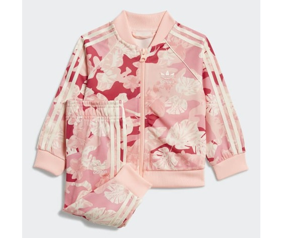 Tuta adidas rosa bambina track suit sst art. gd2889