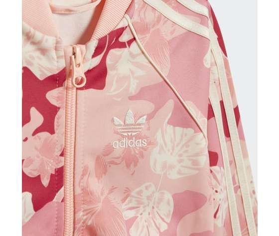 Tuta adidas rosa bambina track suit sst art. gd2889 1