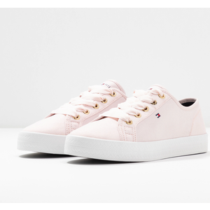 Tommy Hilfiger Scarpe Donna In Tela Basse Rosa Essential Nautical Sneakers art . FW0FW04848 TJP