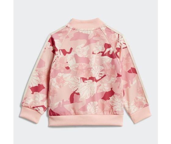 Tuta adidas rosa bambina track suit sst art. gd2889 2