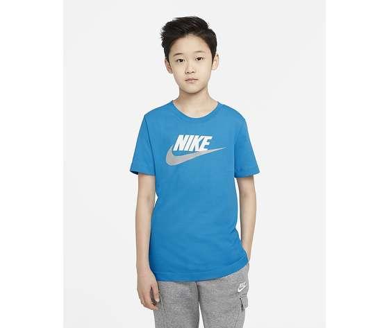T shirt azzurra bambino nike sportwear art. ar5252 447