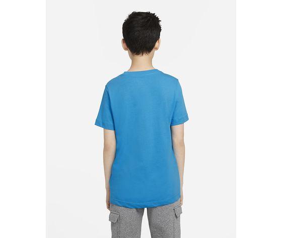 T shirt azzurra bambino nike sportwear art. ar5252 447 1