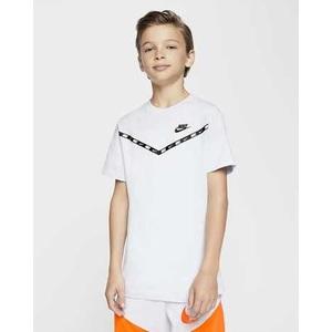 T-Shirt Bianca Bambino Nike Sportwear Chevron art. CV2167 010