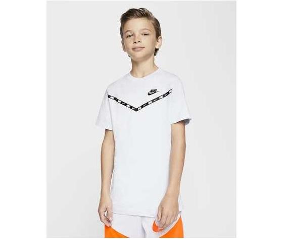 T shirt bianca bambino nike sportwear chevron art. cv2167 010