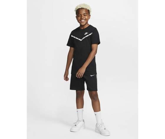 T shirt nera bambino nike sportwear chevron art. cv2167 010 1