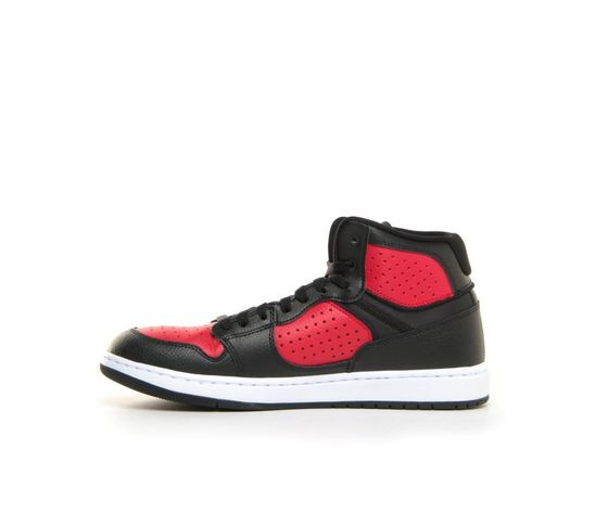 Scarpe sportive uomo jordan access nero rosse art. ar3762 006 1