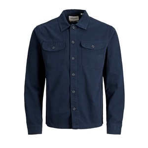 Camicia Navy Blu Worker In Tela Jack & Jones Jcoben art. 12178913 NAV