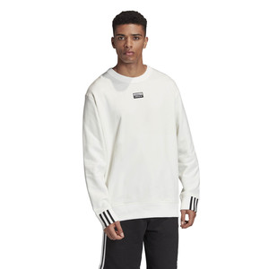 Felpa Girocollo Adidas R.Y.V. Crew Sweatshirt Bianca art. FM2261