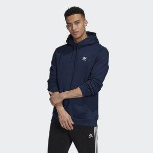 Felpa Con Cappuccio Adidas Originals Navy Blu Hoodie Trefoil Essentials art. GD2559