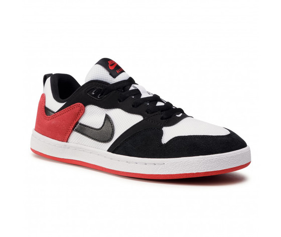Scarpe uomo nike sb alleyoop %28gs%29 sneakers basse bianco nero rosso art. cj0883 102 %281%29