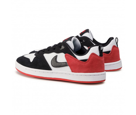 Scarpe uomo nike sb alleyoop %28gs%29 sneakers basse bianco nero rosso art. cj0883 102 %282%29