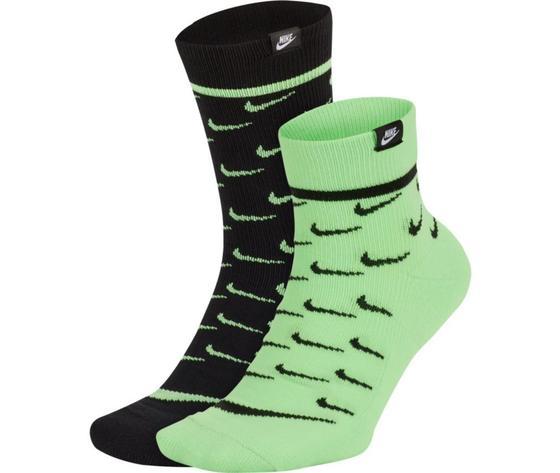Nike calze sportswear snkr sox verde art. ck5607 902