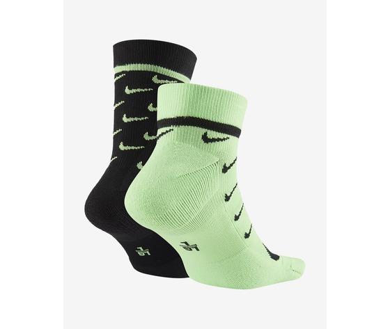 Nike calze sportswear snkr sox verde art. ck5607 902 1
