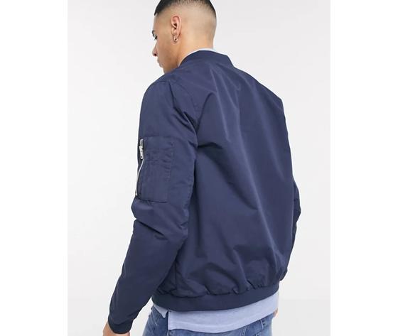 Jack   jones giacca da aviatore classica navy art. 12165203 navy %283%29
