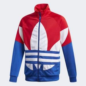 Giacca Tuta Bambino Blu/Rosso Adidas Originals art. GD2706
