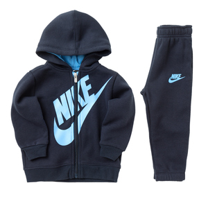 Tuta Bambino Blu/Celeste Nike Sueded Fleece Futura art. 66e412 695