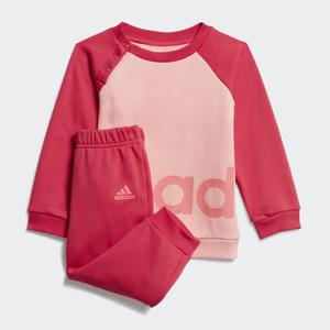 Tuta Bambina Rosa Linear Adidas Fleece Jogger art. GD6173
