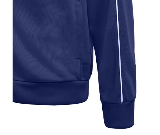 Giacca tuta bambino blu scuro adidas core 18 art. cv3577 1