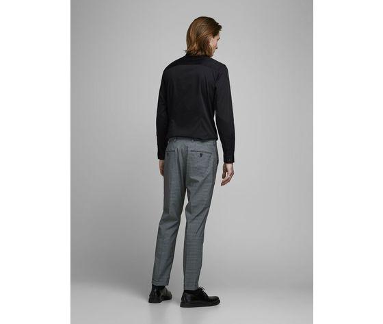 Jack jones camicia classica nera super slim art.12097662 n 1