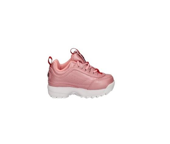 Fila sneakers basse rosa bambina distruptor art. 1011077 73l 2