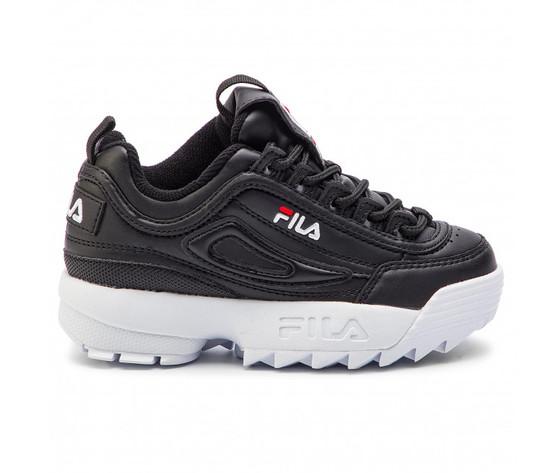 Sneakers fila disruptor kids nero bambino art. 1010567.25y