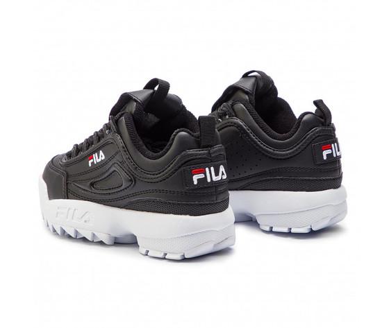 Sneakers fila disruptor kids nero bambino art. 1010567.25y 2