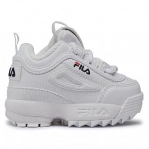 Sneakers Fila Disruptor Infants bianco neonato art. 1010826.1FG