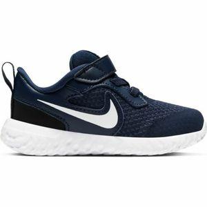 Scarpe Sportive Bambino Nike Revolution 5 Blu-Bianco Mesh art. BQ5673 402