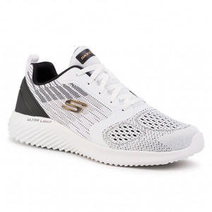 Skechers Sneakers Uomo Bianche Verkona art. 232004 WBK