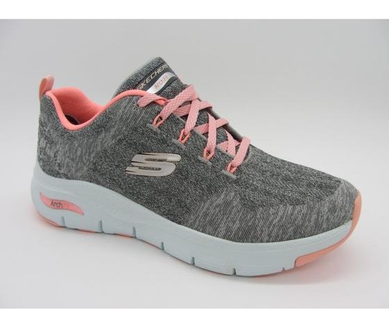 Skechers scarpe da ginnastica grigio donna art. 149414 gypk