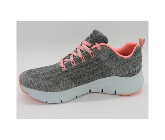 Skechers scarpe da ginnastica grigio donna art. 149414 gypk 1