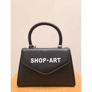 Shop Art Mini Borsa Nera Ecopelle art. SA030162 NER