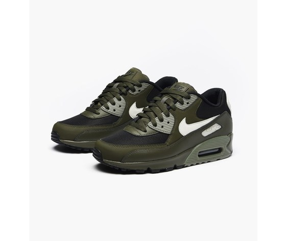 Nike air max 90 essential 537384 309 cargo khaki light bone dark st %284%29