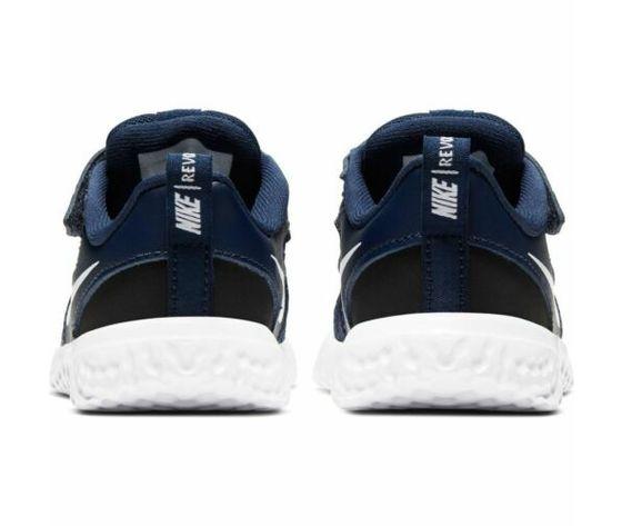 Scarpe sportive bambino nike revolution 5 blu bianco mesh art. bq5673 402 1