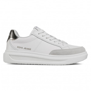 Pepe Jeans Sneakers Donna Bianche Abbey Top art.PLS31052 801