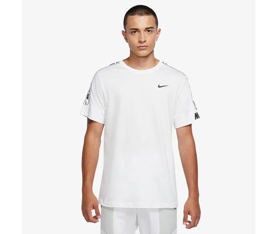 Nike t shirt bianca sportswear repeat art. cz7829 100 %281%29