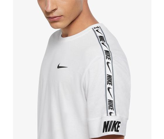 Nike t shirt bianca sportswear repeat art. cz7829 100 %283%29
