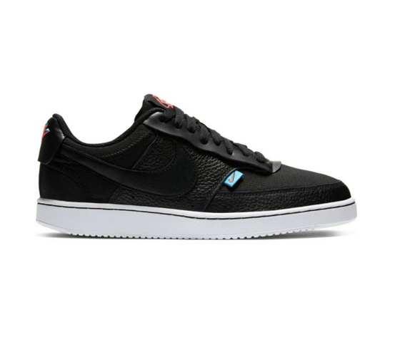 Nike court vision low nero premium art. ci7599 001