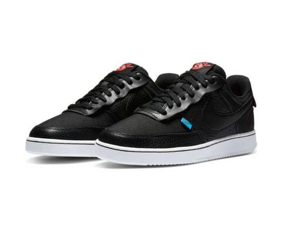 Nike court vision low nero premium art. ci7599 001 1