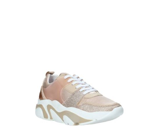 Apepazza sneakers donna eleonor platino art.s0easy01mix 3
