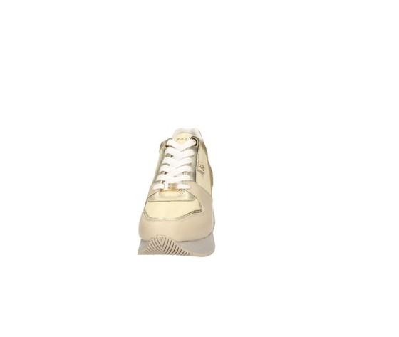 Apepazza sneakers donna harya con zeppa beige art. s0highrun07 glt 3
