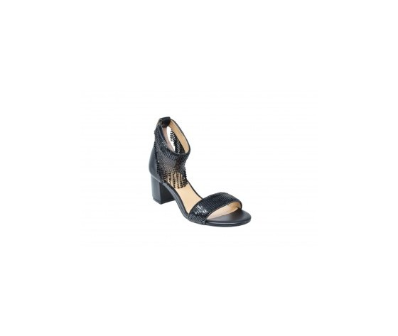 Apepazza magda sandalo tacco basso nero art. s0melody01 ner 1
