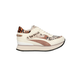 Apepazza Sneakers Raven Donna Multi Animalier Blush art. F0RSD02 BLUSH