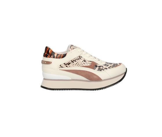 Apepazza sneakers raven donna multi animalier blush art. f0rsd02 blush