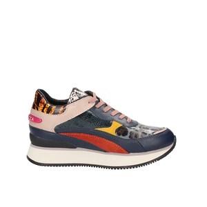 Apepazza Sneakers Raven Donna Multi Animalier Blu art. F0RSD02 BLU