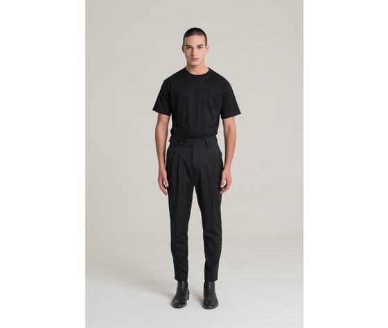 I'm brian pantalone uomo con doppia pinces regular art. pa1503 ner