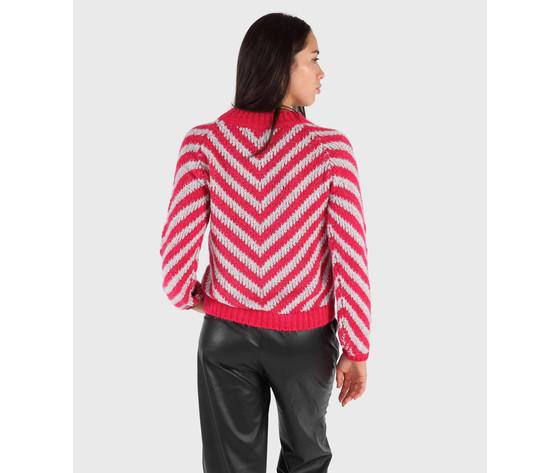 Shop art maglia donna raglan a righe art. 20ish60734 1