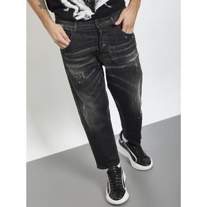 Jeans Uomo I'm Brian Nero Slavato Loose Fit art. L1501