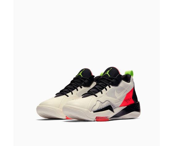 Jordan zoom 92  rosso e nero sneakers uomo art. ck9183 100 2