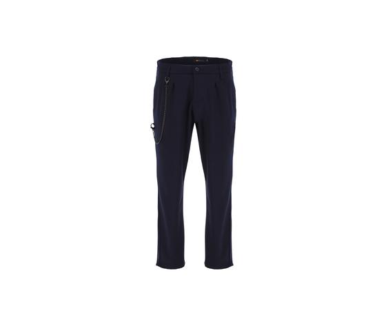 Imperial pantalone classico navy uomo con catena rimovibile art.pb51abz navy 2